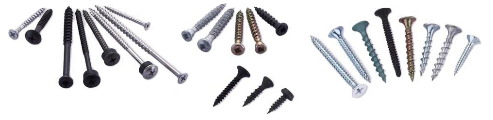 Equipment for the production of self-tapping screws and screws