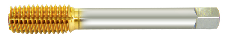 TiN coated Fluteless Tap