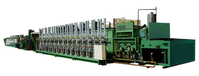 One whole-set of continuous hardening quenching furnace for heat treatment of fasteners