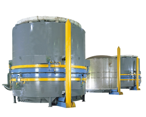 Bell type furnace for wire annealing