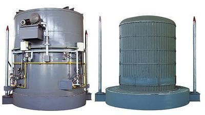 Bell furnace for anneling