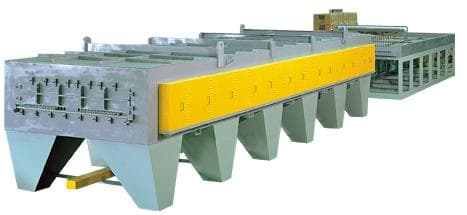 LINEAR FURNACE FOR BRIGHT ANNEALING OF STAINLESS STEEL WIRE
