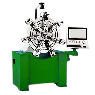 10-AXIS CNC SPRING COILING MACHINE