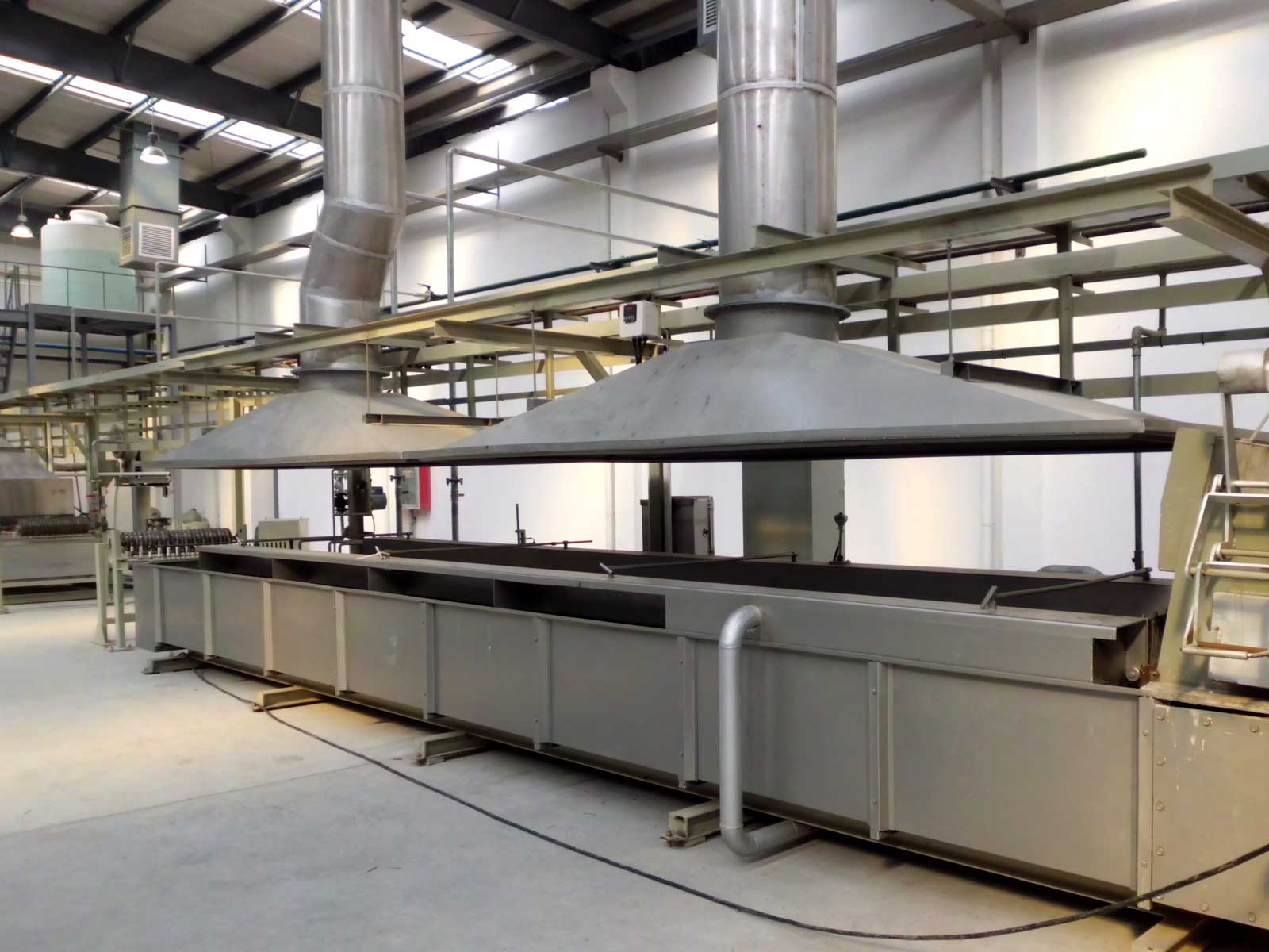 hot dip galvanizing line appearance
