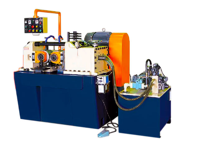 thread rolling machine for studs