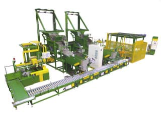 Packaging equipment for metal hardware and parts