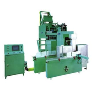 machine for fasteners putting in small boxes