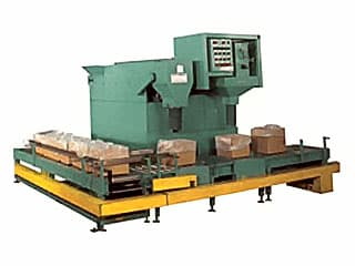 packaging equipment for packaging in large boxes