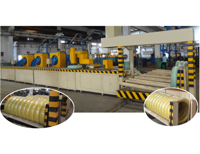 Automatic wire winding and packaging machine