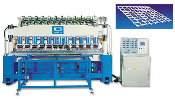 semi-automatic welding line of wire mesh