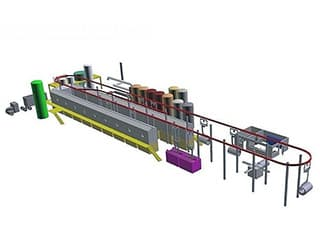 Wire pickling and phosphate equipment